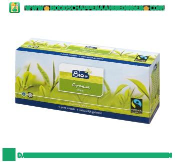 Bio+ Biologische groene thee 1-kops aanbieding