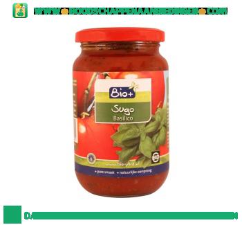 Bio+ Biologische pastasaus basilicum aanbieding