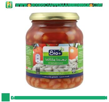 Bio+ Biologische witte bonen in tomatensaus aanbieding