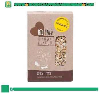 Bio today Muesli cacao aanbieding