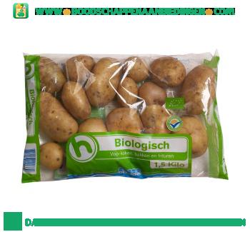 Biologische aardappelen aanbieding