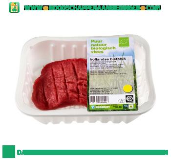 Biologische biefstuk aanbieding
