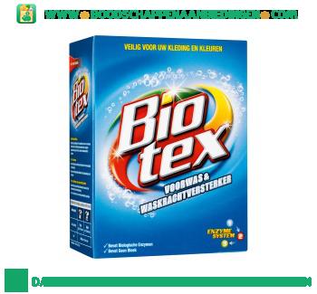 Biotex Poeder voorwas & waskrachtversterker aanbieding