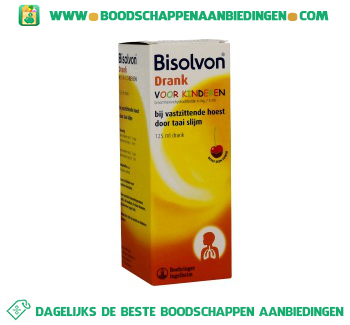 Bisolvon Elixer kind 4 mg/5ml aanbieding
