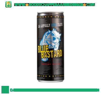 Blue Bastard Energy drink aanbieding