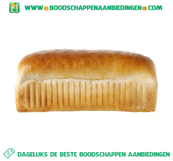 Boeren wit brood aanbieding