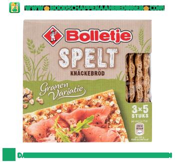 Bolletje Knäckebröd spelt aanbieding