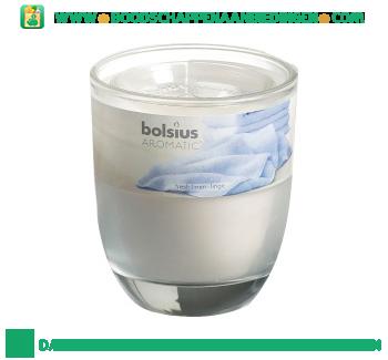 Bolsius Geurglas 80/70 fresh linnen aanbieding