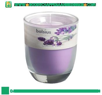 Bolsius Geurglas 80/70 lavendel aanbieding