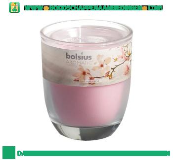 Bolsius Geurglas 80/70 magnolia aanbieding