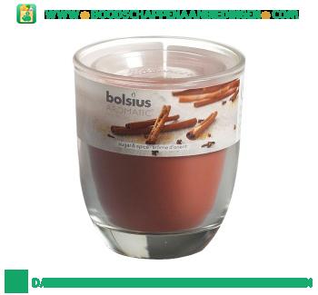 Bolsius Geurglas 80/70 suger & spice aanbieding