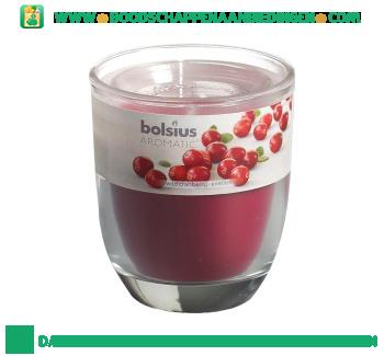 Bolsius Geurglas 80/70 wild granberry aanbieding