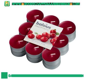 Bolsius Geurtheelicht wild cranberry aanbieding