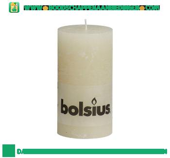 Bolsius Stompkaars 130/68 rustiek ivoor aanbieding