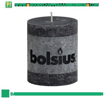 Bolsius Stompkaars 80/68 rustiek antraciet aanbieding