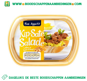 Bon Appetit Kip sate salade aanbieding