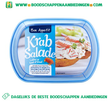 Bon Appetit Krab salade aanbieding