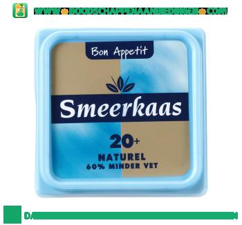 Bon Appetit Smeerkaas 20+ naturel aanbieding