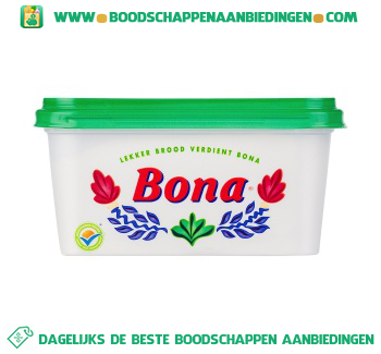 Bona Voor op brood margarine aanbieding