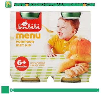 Bonbébé 06m106 pompoen met kip aanbieding