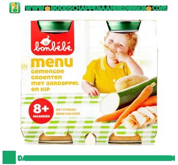 Bonbébé 08m105 groenten met aardappel en kip aanbieding