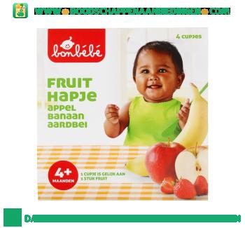 Bonbébé Fruithapje 4+ appel banaan aardbei aanbieding