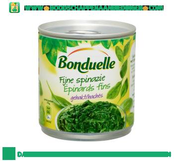 Bonduelle Fijne spinazie gehakt aanbieding