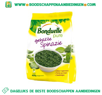 Bonduelle Gehakte spinazie pure aanbieding