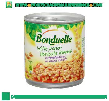 Bonduelle Witte bonen in tomatensaus aanbieding