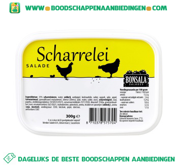 Bonsala Scharrelei salade aanbieding