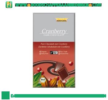 Bonvita Chocolade puur cranberry aanbieding