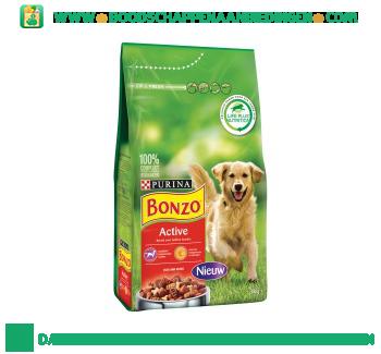 Bonzo Active rijk aan vlees aanbieding