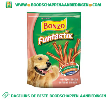 Bonzo Funtastix aanbieding