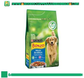 Bonzo Menu brokken met kip aanbieding