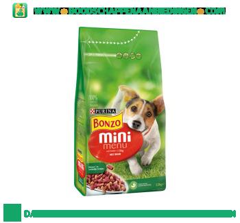 Bonzo Mini menu met rund aanbieding