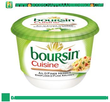Boursin Cuisine knoflook en fijne kruiden aanbieding