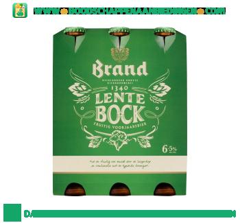 Brand Lentebock pak 6 flesjes aanbieding