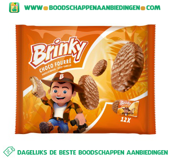 Brinky Choco fourre aanbieding