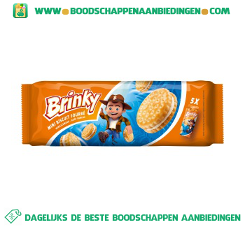 Brinky Mini biscuit vanille aanbieding
