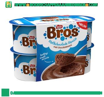 Bros Melkchocolade mousse aanbieding