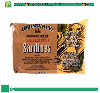 Brunswick Sardines naturel aanbieding