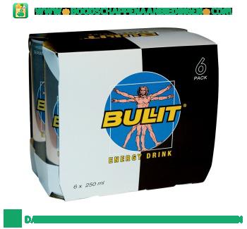 Bullit Energy drink 6-pak aanbieding
