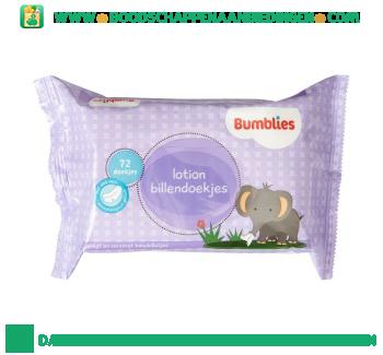 Bumblies Lotion billendoekjes aanbieding