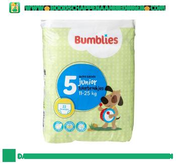Bumblies Luierbroekjes junior 5 aanbieding