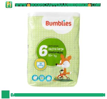 Bumblies Luierbroekjes xl 6 aanbieding