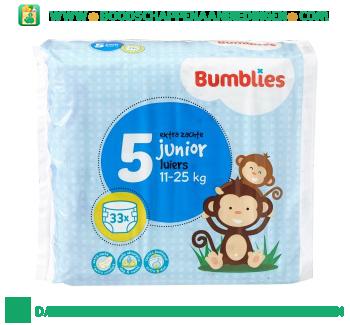 Bumblies Luiers junior 5 aanbieding