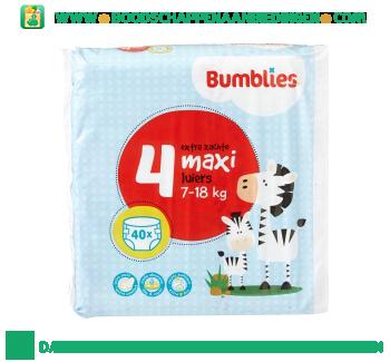 Bumblies Luiers maxi 4 aanbieding