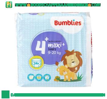Bumblies Luiers maxi+ 4+ aanbieding