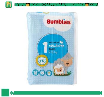 Bumblies Luiers newborn 1 aanbieding