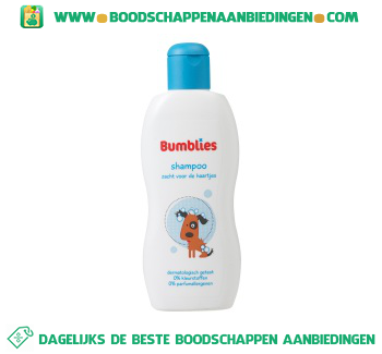 Bumblies Shampoo aanbieding